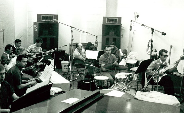 Blaine and colleagues during a Spector session.