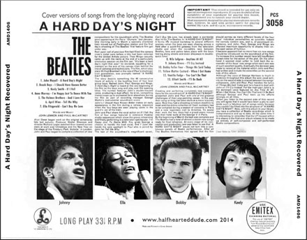 A Hard Day's Night Recovered- back