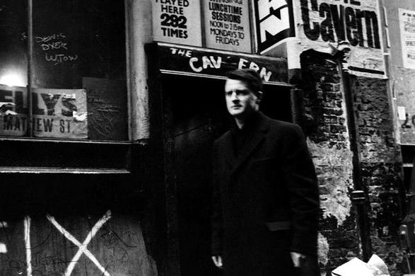 Ray McFall in front of the Cavern