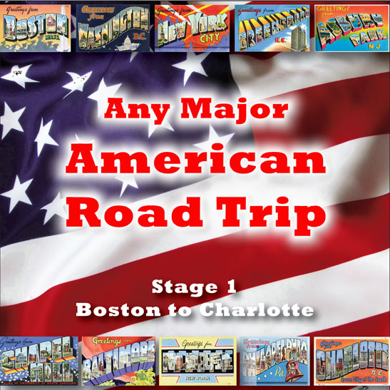 Any Major American Road Trip - Stage 1
