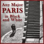 Any Major Paris  In Black & White