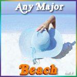 Any Major Beach Vol. 1