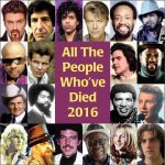 Notable music deaths of 2016